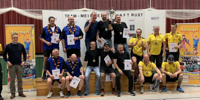 Deutsche Meister im Cornhole 2018