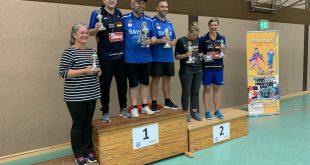 Endergebnisse der German Cornhole Series 2019