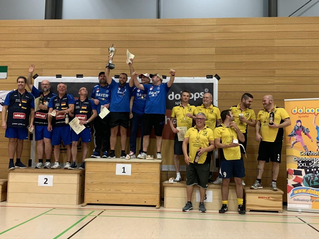 Deutsche Team Meisterschaft im Cornhole 2019 Siegerbild