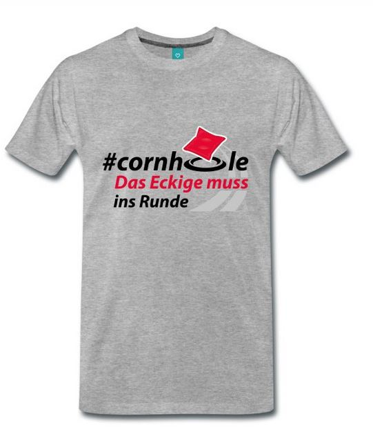Cornhole Fanshirts mit tollen Logos