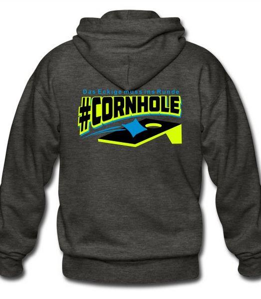 Cornhole Fanartikel - Shirts, Caps, Pullover, Taschen, Becher...
